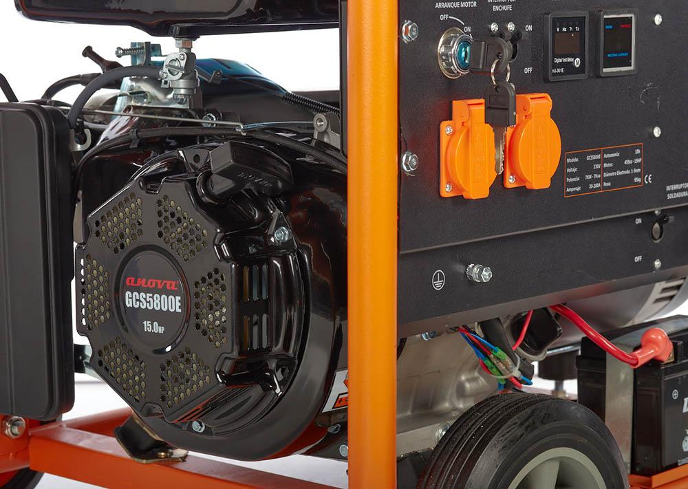 detalle-generador-electrico-anova-GCS5800E