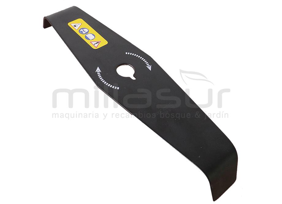 DISCO 2 PUNTAS MALEZA 310mm x 3mm x 25.4mm - NEUTRO