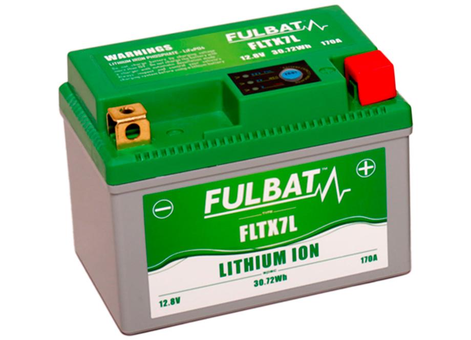 BATERIA MOTO FLTX7L 12V LI-ION 30.7Wh - 170A (113 x 70 x 85) +DER.