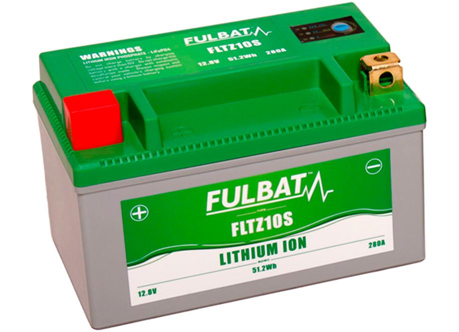 BATERIA MOTO FLTZ10S 12V LI-ION 51.2Wh - 280A (150 x 87 x 93) -DER.
