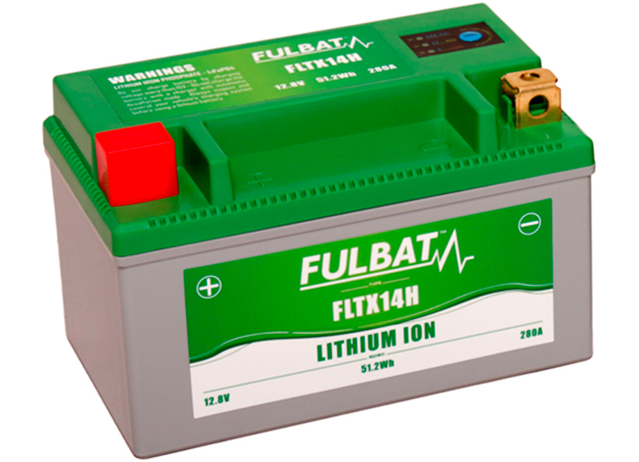 BATERIA MOTO FLTX14H 12V LI-ION 51.2Wh - 280A (150 x 87 x 93) -DER.