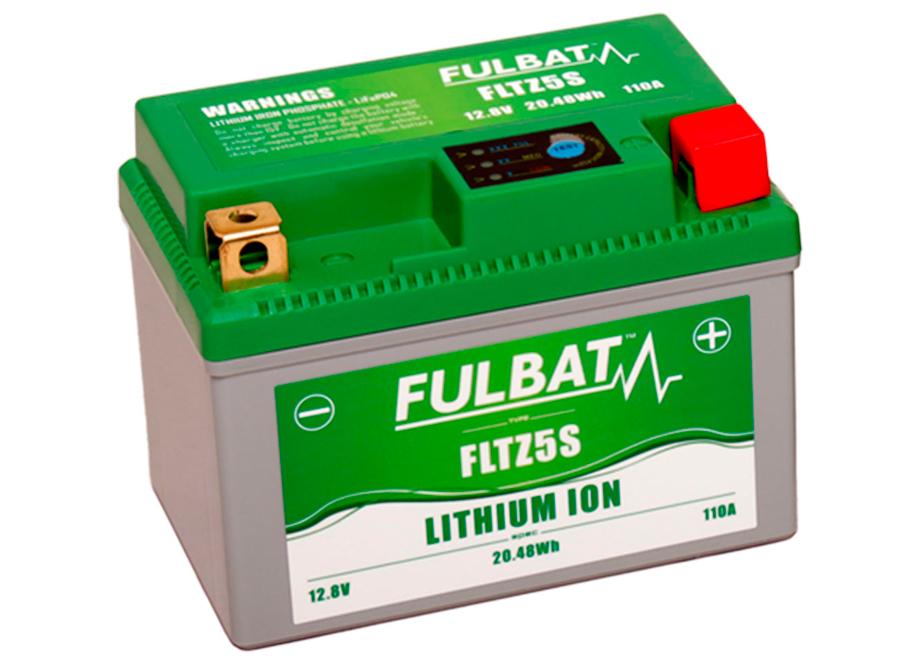 BATERIA MOTO FLTZ5S 12V LI-ION 20.5Wh - 110A (113 x 70 x 85) +DER.