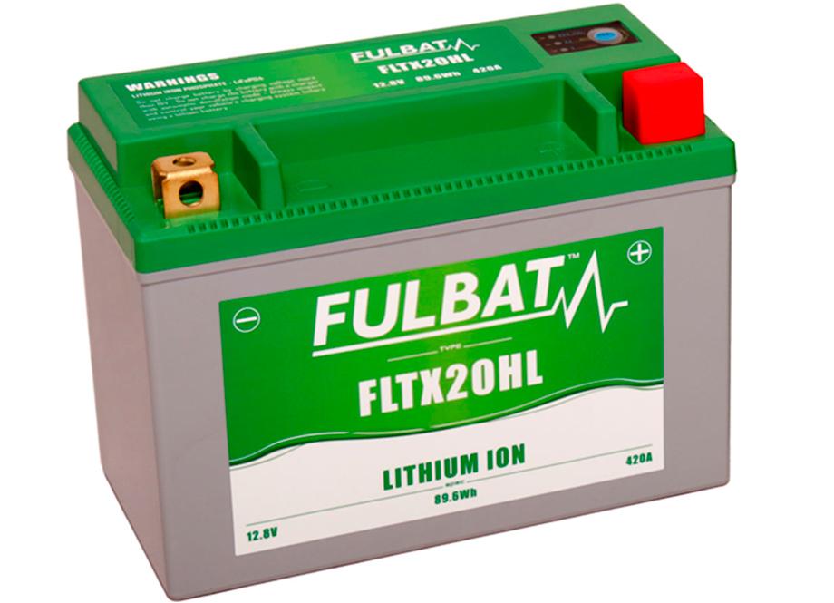 BATERIA MOTO FLTX20HL 12V LI-ION 89.6Wh - 420A (175 x 87 x 130) +DER.