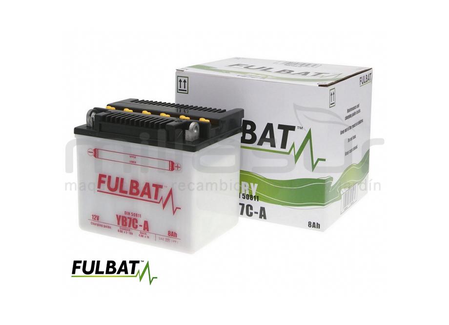 BATERIA MOTO FB7C-A DRY 8Ah (130 X 90 X 114) +DER