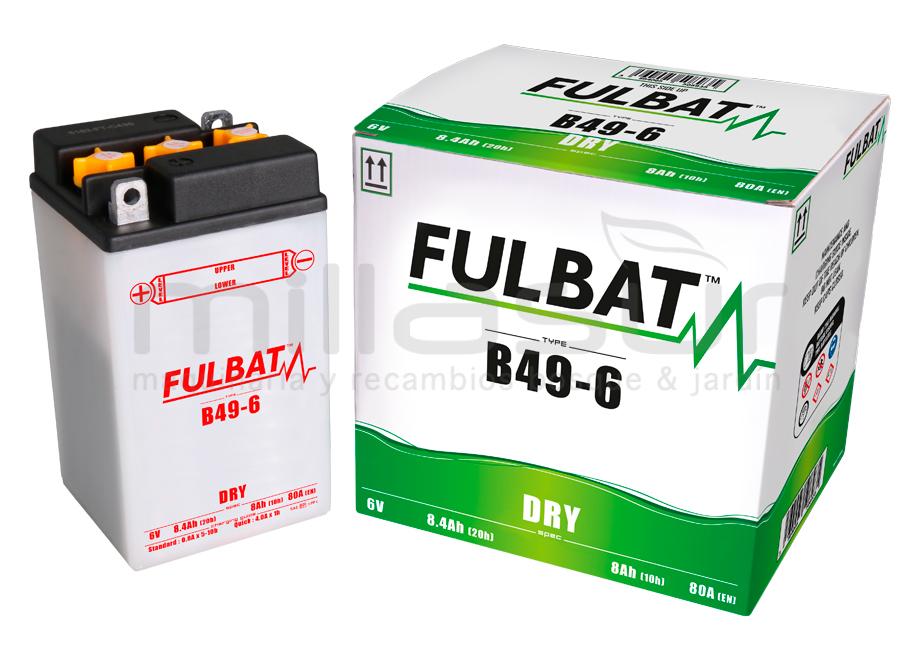 BATERIA 6V B49-6 ACIDO 13 Ah (91 x 83 x 160) -DER.