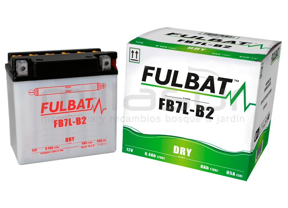 BATERIA MOTO FB7L-B2 12V ACIDO 8 Ah (135 x 75 x 133) +DER.