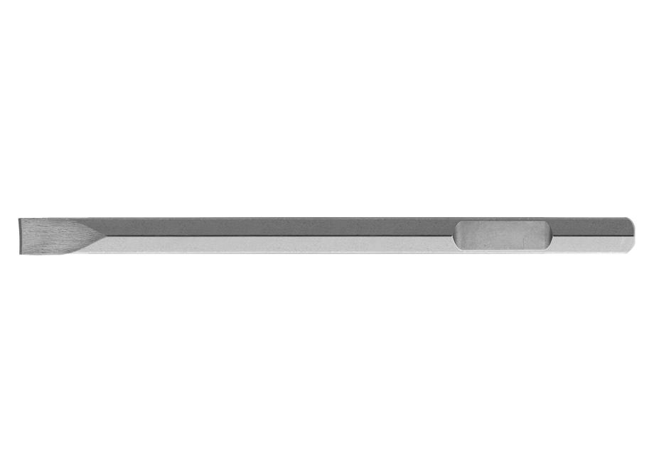 CINCEL PLANO HEX PARA MARTILLO (28x35x530) -APTO PARA TH220502-