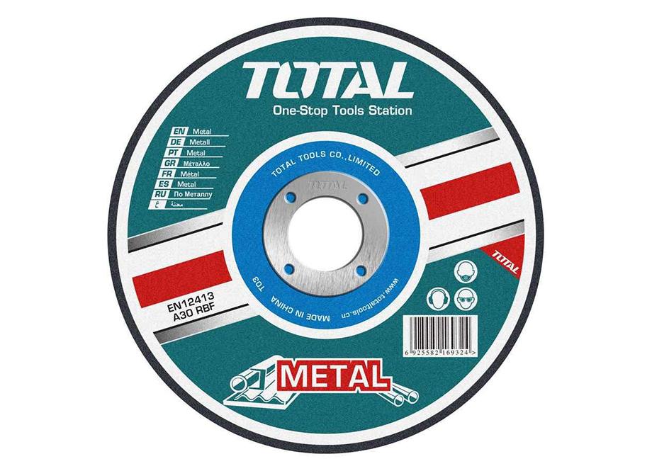 DISCO CORTE METAL AMOLADORA 230MM 3.0MM