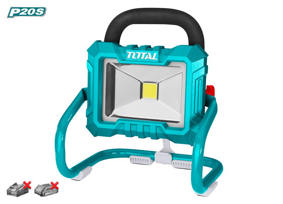 REFLECTOR LED 20V TOTAL - 750-1500 LUMENS - P20S (NO INCLUYE BATERÍA NI CARGADOR)