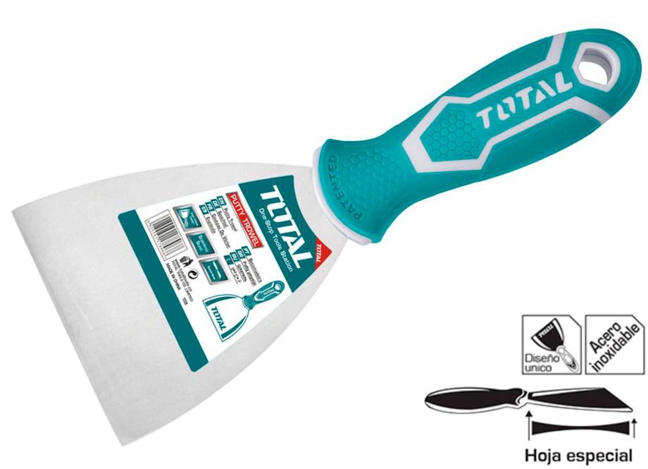 ESPATULA 100mm ACERO INOXIDABLE - TOTAL