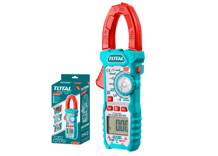 MULTIMETRO DIGITAL CON PINZA 6000C - 1000A TOTAL