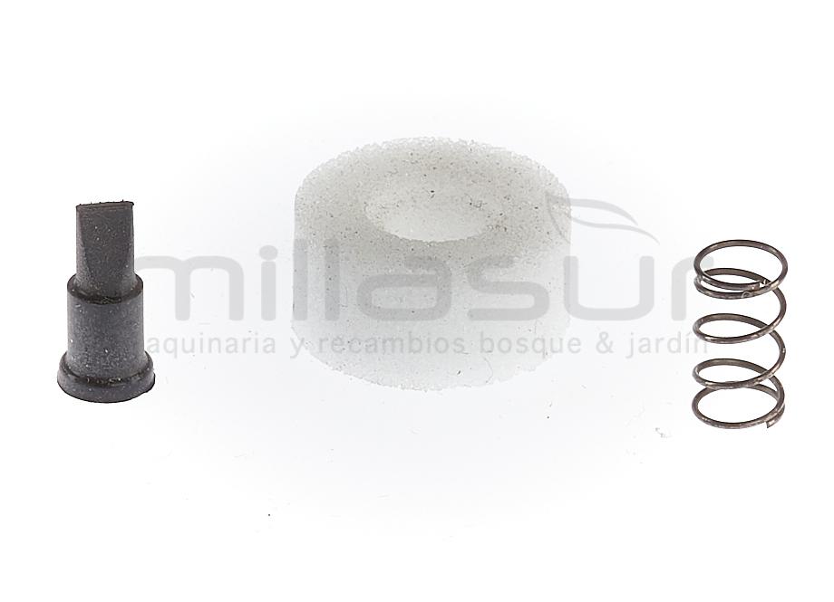 VALVULA RESPIRO DEPOSITO GASOLINA M445HXP (151-153) - M455HXP (157-159)